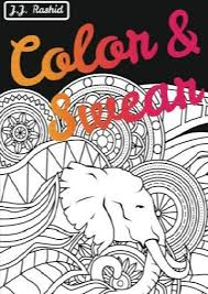 Unlimited Read And Download Color Swear Blackout A Word Coloring Book For