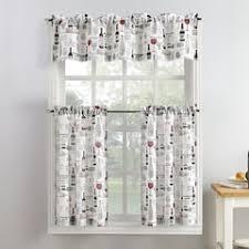 Kohls Kitchen Window Curtains by Kitchen Curtains U0026 Drapes Window Treatments Home Decor Kohl U0027s