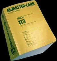 McMaster Carr Online Catalog