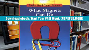 Audiobook What Magnets Can Do Rookie Read About Science Allan Fowler Pre Order