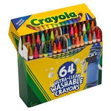 Crayola Bathtub Crayons 18 Vibrant Colors by Crayola Washable Crayons 24 Target