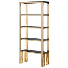 Gold Metal Bookcase Gold Metal Bookcase Gold Metal Bookshelf With