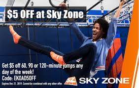 Sky Zone | Entertain Kids On A Dime