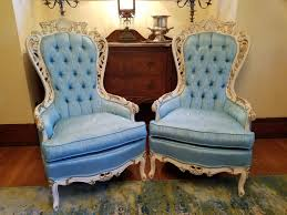 Vintage Hollywood Regency Tufted Chairs In Blue Deutsch-Eck Corp Hollywood Regency Vintage Louis Xvi Style Pair Of High Back 1960s Tufted Ivory Velvet Armchair Chairs In Animal Hollywood Regency Retro 70s Highback Arm Mid Century Attributed To Adrian Pearsall For Craft A Set 2 Everything You Need To Know About Design Palma Lounge Chair Green Xk64 Advancedmasgebysara