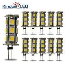 kindomled 10pcs g4 led light bulbs 12 volt dc led bulbs led tower