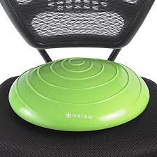 Yoga Ball Office Chair Amazon by Amazon Com Gaiam Adjustable Balance Ball Stool Stability Ball