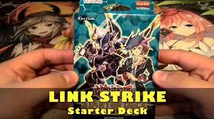 Constellar Deck Link Format by Yugioh Link Strike Starter Deck Opening Start Of The Link Era Is