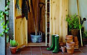how to build a garden tools shed this old house