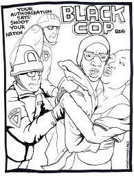 Police Brutality Coloring Book By Jason Mitchell
