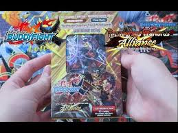 buddyfight trial deck 5 thunder warlords alliance buddyfight x trial deck unboxing