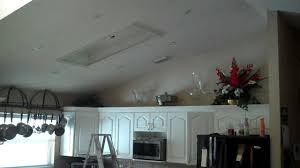 recessed kitchen lighting project