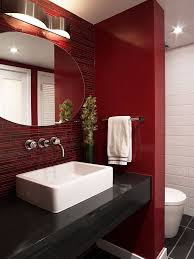 Red And Black Bathroom Rug Set by Best 25 Red Bathroom Decor Ideas On Pinterest Restroom Ideas