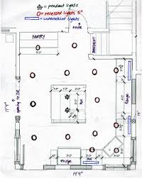 kitchen recessed lighting layout 34 further home