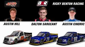 100 Truck Series Drivers 2018 NASCAR Camping World DriverTeam Chart
