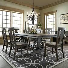 Stunning Black Dining Table Decor Formal Room Setting Ideas Set White Decorating Setti