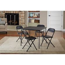 Formal Dining Room Sets Walmart by Dining Room And Chairs Cosco Piece Card Table Set Black Walmart