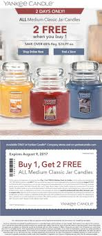Yankee Candle Coupons - 3-for-1 On Medium Candles Today Free Walgreens Photo Book Coupon Code Yankee Candle Company Will Not Honor Their Feb 04 2018 Woodwick Candle Pet Hotel Coupons Petsmart Buy 3 Large Jar Candles Get Free Life Inside The Page Coupon Save 2000 Joesnewbalanceoutlet 30 Discount Theatre Red Wing Shoes Promo Big 10 Online Store 2 Get Free Valid On Everything Money Saver Sale Fox2nowcom Kurios Cabinet Of Curiosities Edmton Choice Jan 29 Retail Roundup Ulta Joann Fabrics