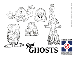 Ghostbusters Coloring Pages 13