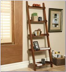 crate barrel sloane espresso leaning bookcase bookcase home