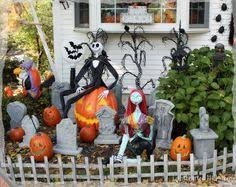 Nightmare Before Christmas Halloween Decorations Ideas by Nightmare Before Christmas Halloween Yard Decorations