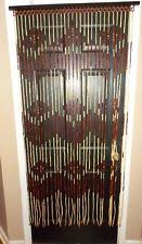 Doorway Beaded Curtains Wood by Beaded Door Décor Ebay