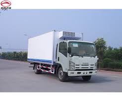4x2 Japanese Brand Refrigerator Truck/frozen Truck For Sale - Buy ...