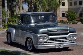 1960 Ford F-100   Ford And Vehicle 1960 Ford F100 427 V8 Truck Blue Oval 571960 The Gems Once Forgotten Effie Photo Image Gallery Highboys My Ford Crew Cab Enthusiasts Curbside Classic F250 Styleside Tonka Assetshemmingscomuimage6237598077002xjpgr Ranger T6 Wikipedia Shanes Car Parts Berlin Motors File1960 F500 Stake Truck Black Frjpg Wikimedia Commons For Sale Classiccarscom Cc708566 Schnablm23 F150 Regular Cab Specs Photos Modification Big