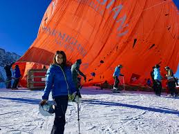100 Tschuggen Grand Hotel Arosa Hot Air Balloon With Ask The Monsters