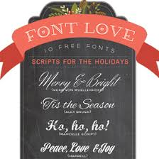 My Favorite Free Script Fonts For The Holidays