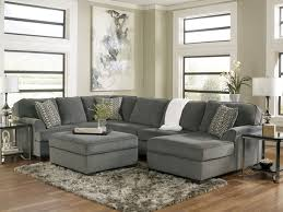 sectional sofa contemporary gray sectional sofa ashley furniture