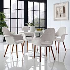Aegis Dining Armchair Set Of 4 In Light Gray