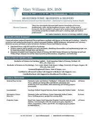Ob Nurse Resume Graduate Sample Rn Job Samples