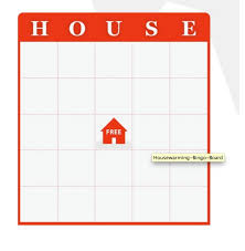 Interesting Idea Ideas For Housewarming Party Games Game House Bingo Free Download New Themed Bridal