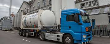 100 Messer Truck Equipment ASCO CO2 CO2 And Dry Ice Logistics Switzerland And Liechtenstein