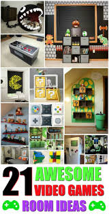 Best Game Room Decor Ideas On Pinterest Gameroom And Kids Ffbbfeabf Video Rooms Boy Bedroom