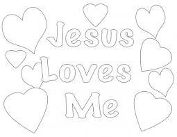 Best 25 Jesus Coloring Pages Ideas Throughout Loves Me Printables