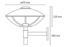 HL 410 Outdoor Wall Lamp Lightyears
