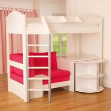 Desk Bunk Bed Combo by Loft Bed With Pull Out Desk And Sofa In Pink For Savannah U0027s Room