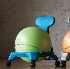 Gaiam Classic Balance Ball Chair Charcoal by Yoga Ball Office Chair Amazon Home Chair Decoration