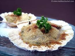 cuisiner les noix de st jacques surgel馥s coquilles jacques à la bretonne recette de cuisine avec