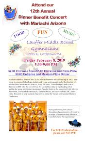 12th Annual Mariachi Dinner Celebration | Billy Lane Lauffer Middle ...