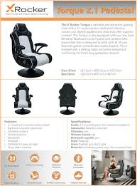 X Rocker Torque 2.1 Speaker Pedestal Gaming Chair Pyramat Wireless Gaming Chair Home Fniture Design Game Bluetooth Singular X Rocker 51259 Pro H3 41 Audio Chair Infiniti 21 Series Ii Bckplatinum Aftburner Pedestal New 2018 Xrocker Se Sound Fox 5171401 Cxr1 Ackblue Office Chairs Xrocker Spider With