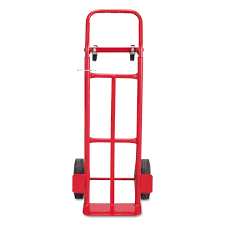 100 Convertible Hand Truck TwoWay 500600lb Capacity 18w X 51h Red
