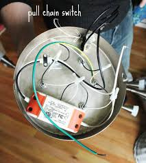 Ceiling Fan Pull Switch Broken by Pull String Light Fixture Pull Chain Light Fixture Repair How To