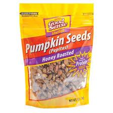 Roasted Shelled Pumpkin Seeds by Good Sense Pumpkin Seeds 6oz Target