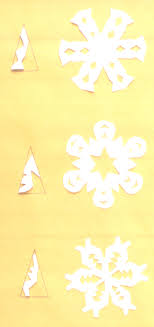 Picture Of Different Paper Snowflake Cuts