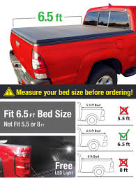 100 Toyota Tundra Truck Bed Covers For 20142019 65ft78in Premium TriFold Tonneau