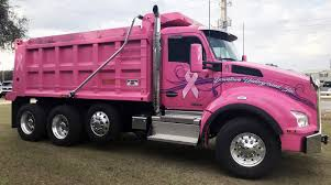 100 Pink Dump Truck Downtown Underground BB Graphics The Wrap Pros