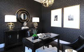 Rustic Office Decor Ideas Home Traditional With Dark Walls Wall Wallpaper