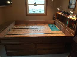 Queen Size Waterbed Headboards by California King Size Waterbed Frame With Large Dresser Drawers